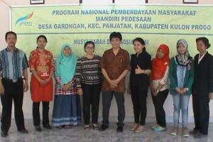 Program Nasional Pemberdayaan Masyarakat Mandiri Pedesaan di Desa Garongan, Kulonprogo