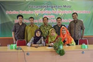 MoU FP UST dengan Dinas Pertanian DIY dan Pabrik Gula