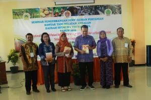 Seminar Pengembangan Penyuluhan Pertanian Kontak Tani Nelayan Andalan